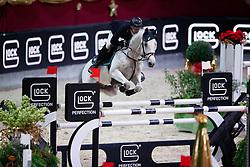 Hassmann Felix, (GER), Cayenne WZ<br /> MEVISTO Amadeus Horse Indoor Salzburg<br /> © Hippo Foto - Stefan Lafrentz<br /> 11-12-2016