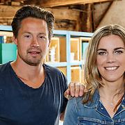 NLD/Zoelen/20150902 - Persdag RTL Eigen Huis en Tuin, klusser Thomas Verhoef en klusvrouw Miranda Leijstra
