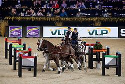 Geerts Glenn, BEL, Maestoso LI 10, Maestoso XLV 1, Silver, Szellem<br /> Vlaanderens Kerstjumping<br /> Memorial Eric Wauters<br /> Jumping Mechelen 2017<br /> © Dirk Caremans<br /> 29/12/2017