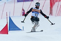 CALHOUN Heath, USA, Team Event, 2013 IPC Alpine Skiing World Championships, La Molina, Spain