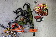 Innsbruck, equipment at the rescue  team base