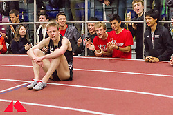 Galen Rupp set American record in 2-Mile at BU Terrier Classic Indoor Track, Rupp recovers on the track