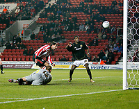 LUNDEKVAM (C) puts the ball into his own goal<br /> <br /> SOUTHAMPTON V MK DONS FA CUP THIRD RND 7.1.06<br /> <br /> PHOTO SEAN RYAN FOTOSPORTS INTERNATIONAL