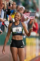 2012 USA Track & Field Olympic Trials: womens 200, Allyson Felix