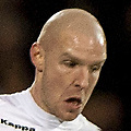 Football - Premier League - Fulham vs. Liverpool<br /> <br /> Fulham Defender Philippe Senderos with the ball