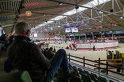 Overzicht vrijspringen<br /> BWP Hengstenkeuring -  Lier 2020<br /> © Hippo Foto - Dirk Caremans<br />  17/01/2020