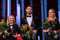 18-12-2019 NED: Sports gala NOC * NSF 2019, Amsterdam<br /> The traditional NOC NSF Sports Gala takes place in the AFAS in Amsterdam / Handbalsters, sportploeg van het jaar 2019, Hugo Haak (bondscoach baansprinters), Coach van het Jaar 2019