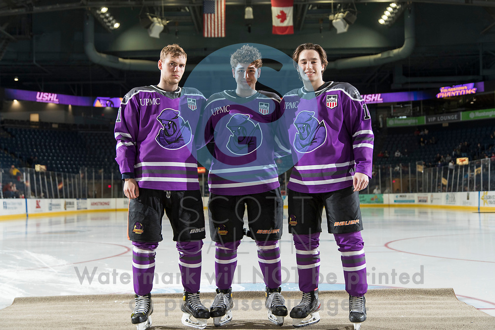 Youngstown Phantoms host Team USA for the final game of the season and billett family night on April 24, 2021.