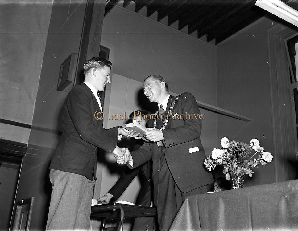 01/11/1957<br /> 11/01/1957<br /> 01 November 1957<br /> <br /> Wesley College Presentation of Prizes