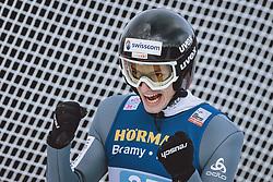 03.01.2021, Bergiselschanze, Innsbruck, AUT, FIS Weltcup Skisprung, Vierschanzentournee, Innsbruck, Einzelbewerb, Herren, im Bild Gregor Deschwanden (SUI) // Gregor Deschwanden of Switzerland during the men's individual competition for the Four Hills Tournament of FIS Ski Jumping World Cup at the Bergiselschanze in Innsbruck, Austria on 2021/01/03. EXPA Pictures © 2020, PhotoCredit: EXPA/ JFK