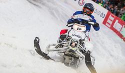 07.12.2014, Saalbach Hinterglemm, AUT, Snow Mobile, im Bild Jean- Eric Vergne (FRA) Scuderia Toro Rosso // during the Snow Mobile Event at Saalbach Hinterglemm, Austria on 2014/12/07. EXPA Pictures © 2014, PhotoCredit: EXPA/ JFK