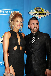 Austin Dillon, Whitney Ward attending the 2016 NASCAR Sprint Cup Series Awards