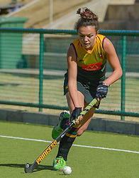 Zaskia van Zyl of Paarl Gimnasium during day two of the FNB Private Wealth Super 12 Hockey Tournament held at Oranje Meisieskool in Bloemfontein, South Africa on the 7th August 2016, <br /> <br /> Photo by:   Frikkie Kapp / Real Time Images