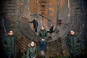 Multiplicity self portrait at Balcombe Viaduct, West Sussex
