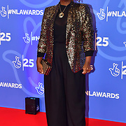 Tameka Empson attends BBC1's National Lottery Awards 2019 at BBC Television Centre, 101 Wood Lane, on 15 October 2019, London, UK.