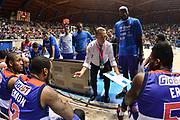 DESCRIZIONE : Final Eight Coppa Italia 2015 Desio Semifinale Olimpia EA7 Emporio Armani Milano - Enel Brindisi<br /> GIOCATORE : Piero Bucchi<br /> CATEGORIA : Allenatore Coach Time Out<br /> SQUADRA : Enel Brindisi<br /> EVENTO : Final Eight Coppa Italia 2015 <br /> GARA : Olimpia EA7 Emporio Armani Milano - Enel Brindisi<br /> DATA : 21/02/2015<br /> SPORT : Pallacanestro <br /> AUTORE : Agenzia Ciamillo-Castoria/L.Canu