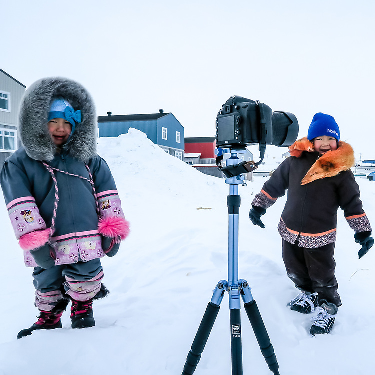 Curious kids about my camera shooting a timelapse