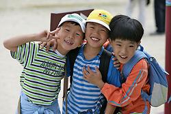 Young Korean Boys, Gyeongbok Palace