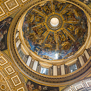 St Peter's Basilica, or Basilica di San Pietro, is the holiest shrine for Catholics and was build on St Peter's tomb by Italy's 16th and 17th century artists including Michelangelo and Raphael.