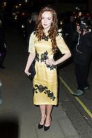 Olivia Grant, Claridge's Christmas Tree - party, Claridge's Hotel, London UK, 26 November 2013, Photo by Raimondas Kazenas