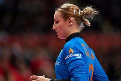 11-12-2019 JAP: Netherlands - Korea, Kumamoto<br /> Last match Main Round Group1 at 24th IHF Women's Handball World Championship, Netherlands win the last match against Korea with 36 - 24. / Rinka Duijndam #30 of Netherlands