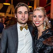 NLD/Rijswijk/20170123 - Premiere Boeing Boeing, Sabine Vaz Nunes en haar broer