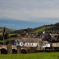 Europe, United Kingdom, Wales, Crickhowell. Crickhowell village in Powys Wales.