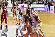 DESCRIZIONE : Campionato 2014/15 Virtus Acea Roma - Giorgio Tesi Group Pistoia<br /> GIOCATORE : Maxime De Zeeuw Ramel Curry<br /> CATEGORIA : Tagliafuori Rimbalzo<br /> SQUADRA : Virtus Acea Roma<br /> EVENTO : LegaBasket Serie A Beko 2014/2015<br /> GARA : Dinamo Banco di Sardegna Sassari - Giorgio Tesi Group Pistoia<br /> DATA : 22/03/2015<br /> SPORT : Pallacanestro <br /> AUTORE : Agenzia Ciamillo-Castoria/GiulioCiamillo<br /> Predefinita :