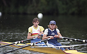 "Henley on Thames. Henley. GREAT BRITAIN;  <br /> Women's 2X, Bow.  Rachel [HIRST} STANHOPE.<br /> 1995 Women's Henley Regatta. Henley Reach. River Thames.<br /> <br /> [Mandatory Credit; ""Photo, Peter Spurrier/Intersport-images]"