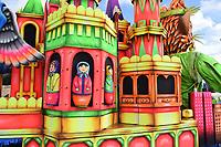 Russian Dolls, in a castle float