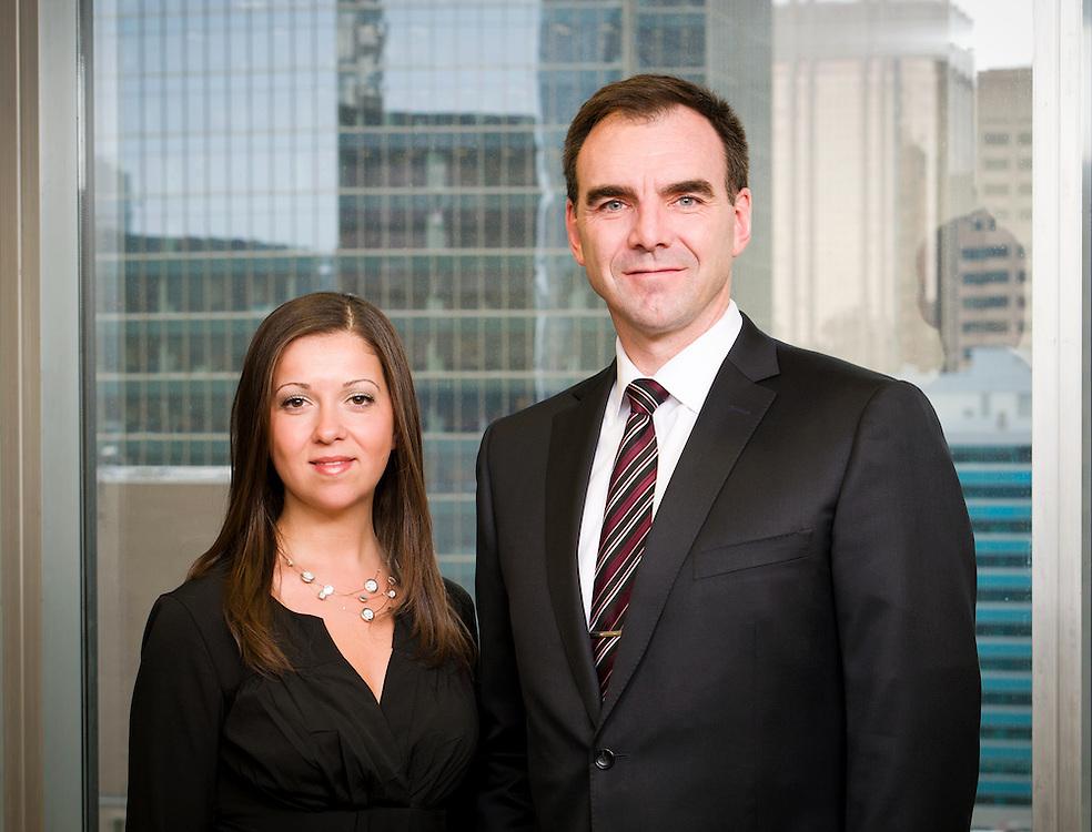 Business Portraits of MK Wealth, Calgary, Alberta