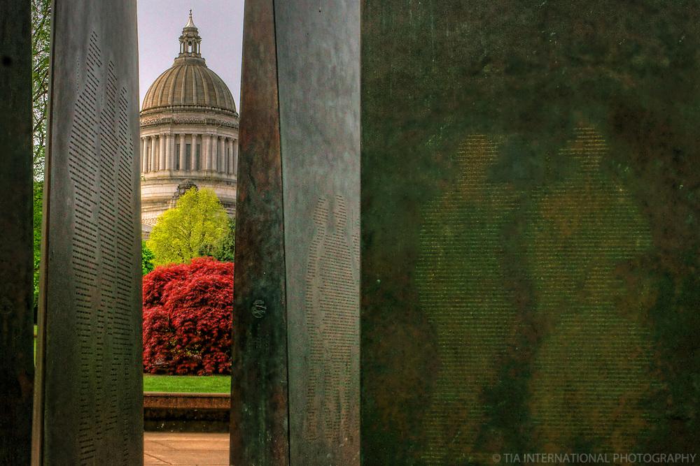 World War II Memorial, Washington State Capitol, Olympia