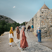 Located on Lake Van, this 10th century Armenian cathedral of the Holy Cross stands quietly on Akdamar island.