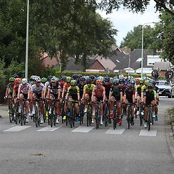 31-08-2018: Wielrennen: Ladies Tour: Weert<br />Peloton laat de vluchtster begaan