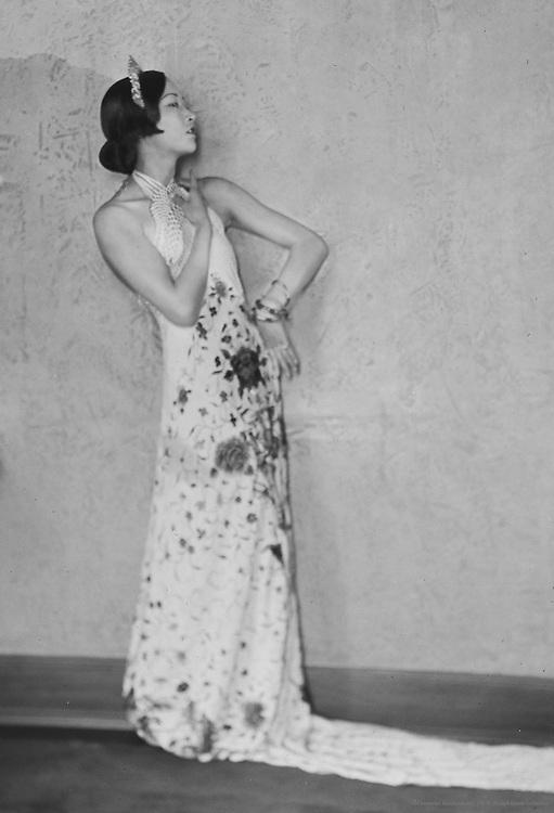 Anna May Wong, actress, 1925