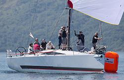 Silvers Marine Scottish Series 2017<br /> Tarbert Loch Fyne - Sailing<br /> <br /> FRA35439, Inis Mhor, M Findlay, CCC, Ker 39<br /> <br /> Credit Marc Turner / PFM