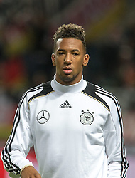 15.10.2013, Friends Arena, Stockholm, SWE, FIFA WM Qualifikation, Schweden vs Deutschland, Gruppe C, im Bild Germany 20 Jerome Jerome Boateng, , , Nyckelord , Keywords : football , fotboll , soccer , FIFA , World Cup , Qualification , Sweden , Sverige , Schweden , Germany , Tyskland , Deutschland portr©tt portrait // during the FIFA World Cup Qualifier Group C Match between Sweden and Germany at the Friends Arena, Stockholm, Sweden on 2013/10/15. EXPA Pictures © 2013, PhotoCredit: EXPA/ PicAgency Skycam/ Ted Malm<br /> <br /> ***** ATTENTION - OUT OF SWE *****