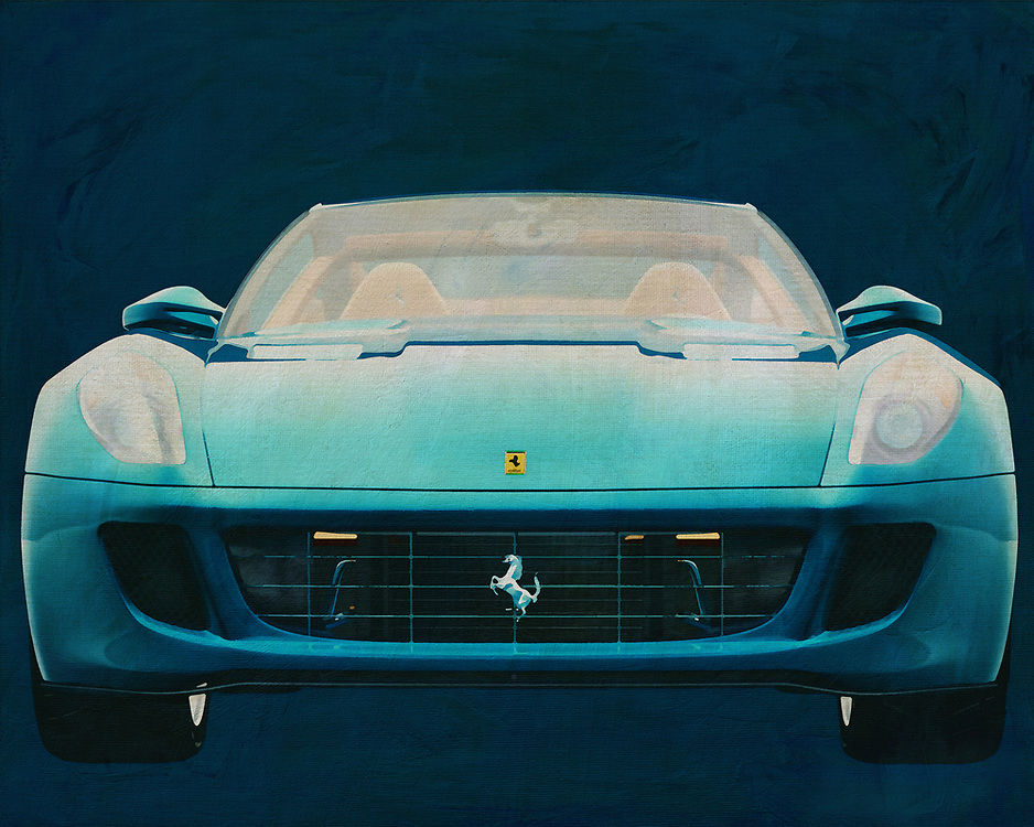 Ferrari 599 GTB Fiorano <br /> Ferrari is a vehicle that makes people think of extraordinary examples of engineering prowess. Few vehicle names are more celebrated than the Ferrari, which has defined the dreams of automobile enthusiasts for the past several generations. You can recreate those dreams with this digital painting, which can be set up anywhere you please . -<br /> <br /> BUY THIS PRINT AT<br /> <br /> FINE ART AMERICA<br /> ENGLISH<br /> https://janke.pixels.com/featured/ferrari-599-gtb-fiorano-jan-keteleer.html<br /> <br /> WADM / OH MY PRINTS<br /> DUTCH / FRENCH / GERMAN<br /> https://www.werkaandemuur.nl/nl/shopwerk/Ferrari-599-GTB-Fiorano-2006-voorkant/571908/132