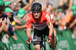 Team Lotto-Soudal's Andre Greipel wins stage four of the Ovo Energy Tour of Britain 2018 from Nuneaton to Royal Lemington Spa.