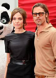 "File Photo: 22 May 2011 - Hollywood, California - Angelina Jolie and Brad Pitt. ""Kung Fu Panda 2"" Los Angeles Premiere held at Grauman's Chinese Theatre. Photo Credit: Byron Purvis/AdMedia"