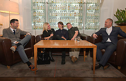Pictured: Writer Duncan Paveling, Director Jane Gull, Will Rastall, Stephen Brandon and producer James Rumsey<br /> <br /> Some of the cast and those behind the scenes of My Feral Heart gathered in the Scotch Whisky Society in Edinburgh to relax ahead of the UK Premier of their film at the Edinburgh International Film Festival. Directed by Jane Gull, My Feral Heart stars Stephen Brandon in his debut as Luke, Will Rastall, Shana Swash, Eileen Polliock, Suzanna Hamilton and Pixie Le Knot.<br /> <br /> When Luke, an independent and sensitive young man with Down's syndrome is forced to live in a care home after his elderly mother dies, he struggles to settle. Frustrated by having his wings clipped by unfamiliar rules; totally unimpressed by his new housemates and grieving for his Mum - his disappointment soon turns to wonder when Luke discovers a way out and begins to explore the surrounding countryside. When he is caught sneaking out by Pete, a troubled youth who tends the gardens at the Home, they strike up an unlikely rapport: Pete covers for Luke when he sneaks out and in return Luke helps Pete clear the garden. On an illicit excursion to the adjoining field Luke discovers a young injured girl in desperate need of his help.<br /> <br /> <br /> Ger Harley | EEm 17 June  2016