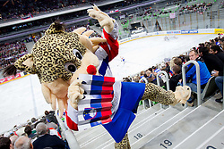 Buli, official mascot during ice-hockey match between Slovenia and Japan at IIHF World Championship DIV. I Group A Slovenia 2012, on April 16, 2012 in Arena Stozice, Ljubljana, Slovenia. (Photo by Vid Ponikvar / Sportida.com)