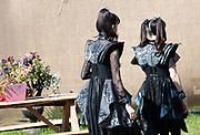 Glastonbury2019 Atmosphere Baby Metal avoiding the camera