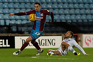 Scunthorpe United forward Lee Novak (17) during the EFL Sky Bet League 1 match between Scunthorpe United and Wycombe Wanderers at Glanford Park, Scunthorpe, England on 29 December 2018.