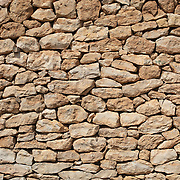 Detail of a stone wall