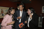 RICHARD E.GRANT,  JULES HOLLAND AND MAYA VON SCHONBURG, The John Betjeman Variety Show, sponsored by Shell, in aid of Sane. In the Presnece of the Prince of Wales and the Duchess of Cornwall. Prince of Wales theatre. London. 10 September 2006. ONE TIME USE ONLY - DO NOT ARCHIVE  © Copyright Photograph by Dafydd Jones 66 Stockwell Park Rd. London SW9 0DA Tel 020 7733 0108 www.dafjones.com