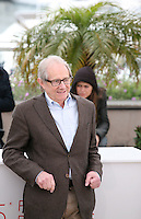 Ken Loach at The Angel?s Share photocall at the 65th Cannes Film Festival France. The Angel's Share is directed by Ken Loach. Tuesday 22nd May 2012 in Cannes Film Festival, France.