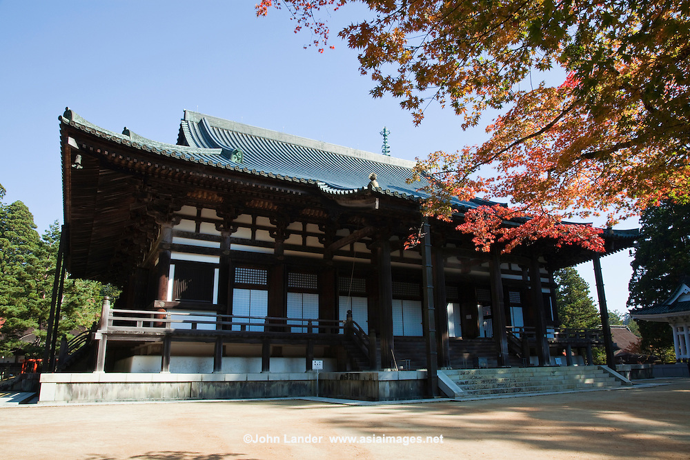 """Kongobuji is the head temple of the Shingon sect of Buddhism, located on Mount Koya. Its name means """"Temple of the Diamond Mountain"""" and is a UNESCO World Heritage Site."""