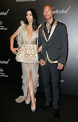 May 18, 2019 - Cannes, France - Jeremy Meeks, Andreea Sasu. ''Love'' party Chopard in Cannes 2019.. Pictures: Laurent Guerin / EliotPress Set ID: 600942....239424 2019-05-17  Cannes France. (Credit Image: © Laurent Guerin/Starface via ZUMA Press)