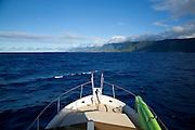 Kalaupapa Peninsula, North Shore, Molokai, Hawaii
